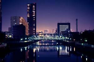 夜景写真(橋)