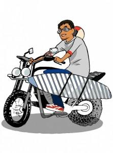 パパさんバイク