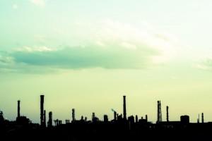 工場シルエット