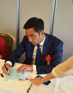 新川さんサイン